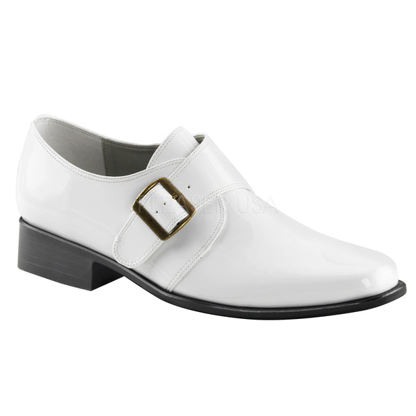 LOAFER-12 PU White