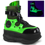 NEPTUNE-126  Black-Green Patent Multi