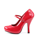PRETTY-50  Red Patent