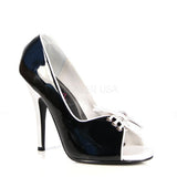 SEDUCE-216  Black/White Patent