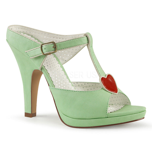 SIREN-09  Mint Faux Leather