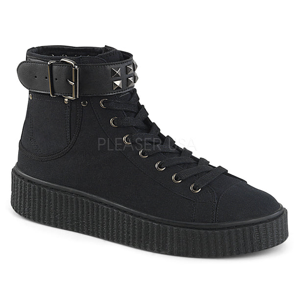 SNEEKER-255  Black Canvas