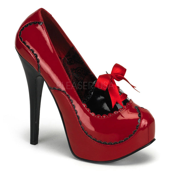 TEEZE-01  Red-Black Patent