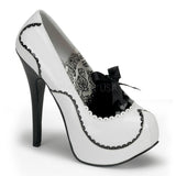 TEEZE-01  White-Black Patent