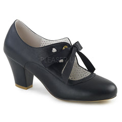 WIGGLE-32  Black Faux Leather