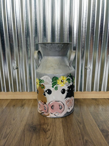 Trio Milk Can