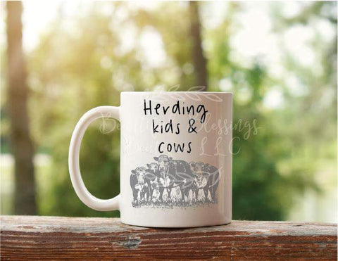 Herding Kids & Cows