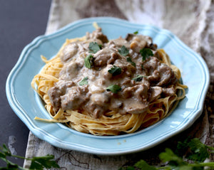 Super Healthy Beef Stroganoff Recipe