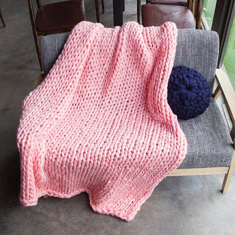 Yarn Knitted Blanket