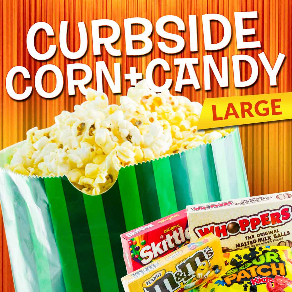 Large Popcorn & Candy Combo