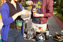 tailgating accessories, drink holder, wine glass necklace, unique party favors