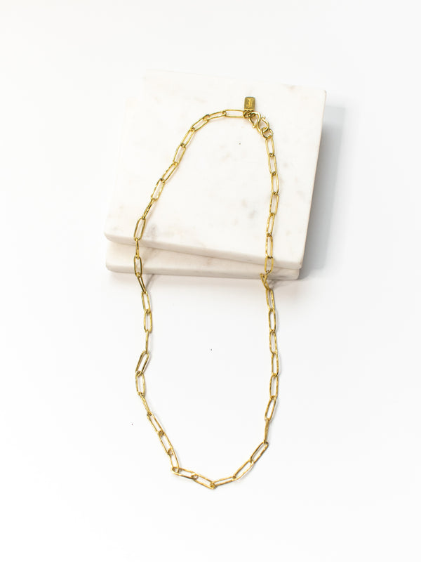 Petite Bambu Link Chain Necklace