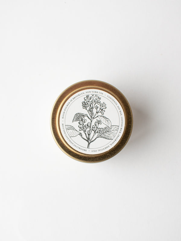 Santal Gold Travel Tin Candle
