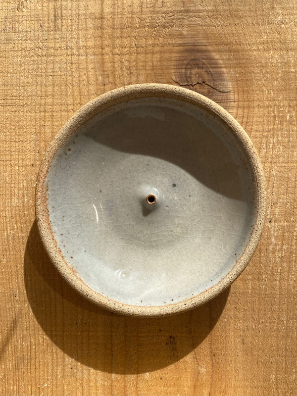 Stoneware Wood-fired Incense Holders/Burners