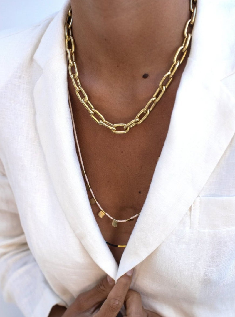 Berat Chunky Chain Necklace