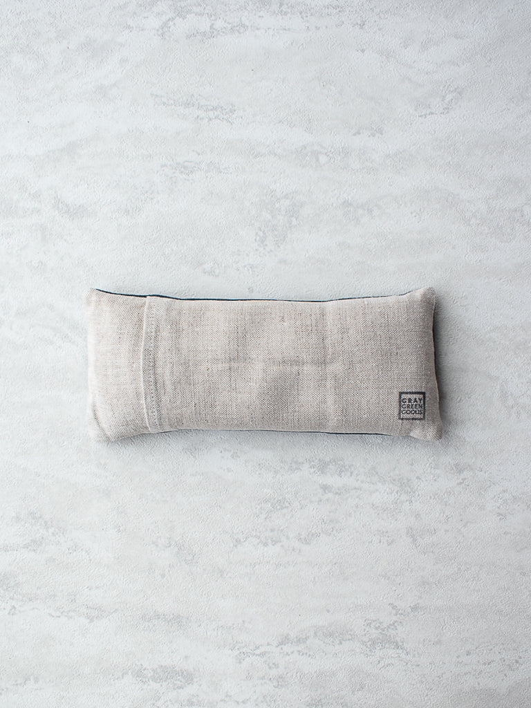 Indigo Dyed Lavender & Flax Linen Eye Pillow