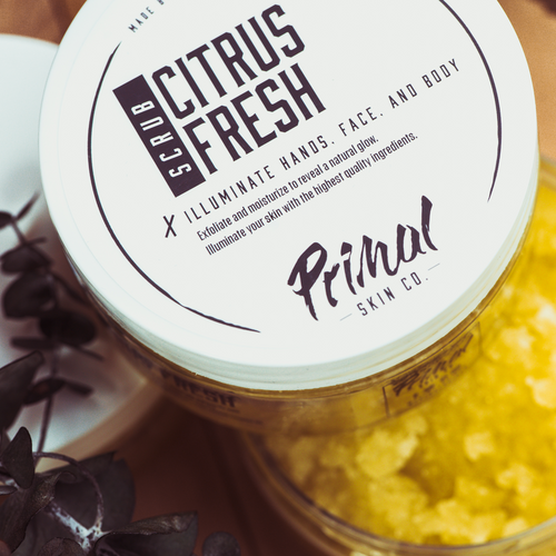 Citrus Fresh Scrub - Primal Skin Co.