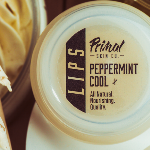 Peppermint Cool Lip Balm - Primal Skin Co.