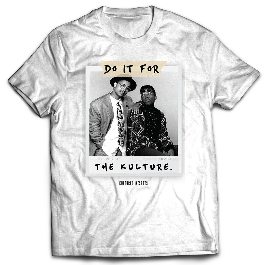 Do It For The Kulture : Dwayne x Ron (Polaroid Tee)