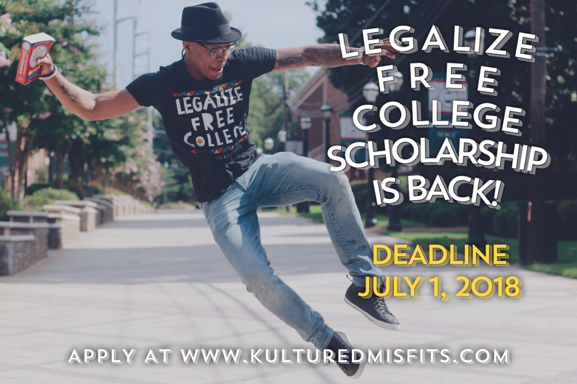"""Legalize Free College"" Scholarship Donation"