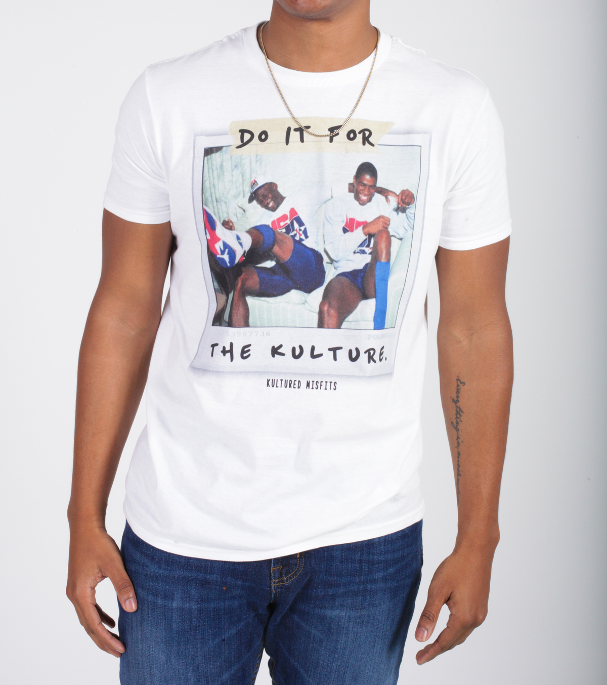 Do It For The Kulture : MJ x Magic (Polaroid Tee)