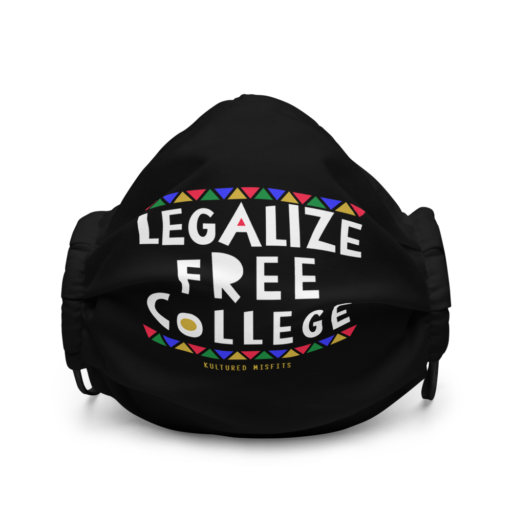 Legalize Free College Face Mask