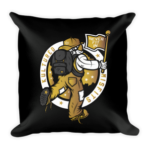 """NOMAD"" Throw Pillow"