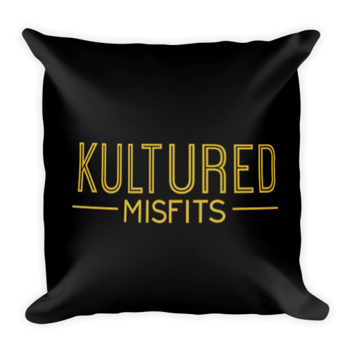 """Kultured Misfits"" Throw Pillow"