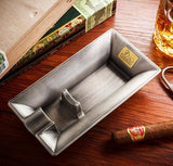 LUBINSKI Creative Design Metal Cigar Ashtray