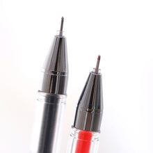 2 Pcs 0.5mm Gel Pens Marker Pen Stationery Black Red Blue Ink for School Office