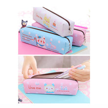 Waterproof Cartoon Pen Case Large Capacity Pen Holder Bag Stationery for Girl Boys