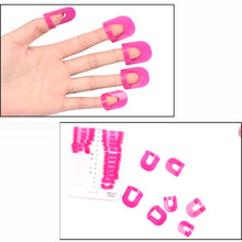 26pcs/set Nail Polish Molds Clips Spill-Resistant Finger Cover Nail Arts Manicure Tools