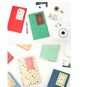 84 Photos Insert Insert type  beautiful candy colors 3 Inch Photo Album Photo Copies of The Mini Album Series Guest for Polaroid Instax Fujifilm