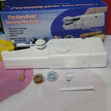 Mini Hand-Held Clothes Sewing Machine Mini Portable Handy Stitch Hand Clothes Quick Sewing Machine Portable Cordless