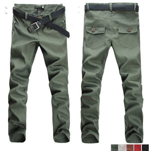 Brief Stylish Casual Long Pants Trousers For Men Boys