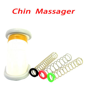 Chin Jaw Slimmer Exerciser Massager for Reducing Double Jaw-White