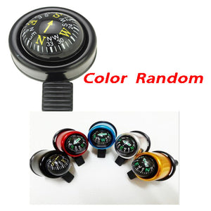 2 in 1 Ball Compass & Bell with Ringing Voice for Bicycle-Color random