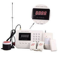 99 Zones GSM & PSTN Dual-network SMS Auto-dial Voice Wireless Digital Home Intelligence Security Burglar Alarm System