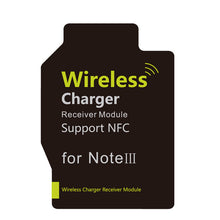 N310 Qi Standard Wireless Charging Receiver Module Support NFC for Samsung Galaxy Note 3 - Black