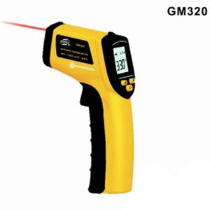 Brand New Portable Infrared Handheld Thermometer - Yellow