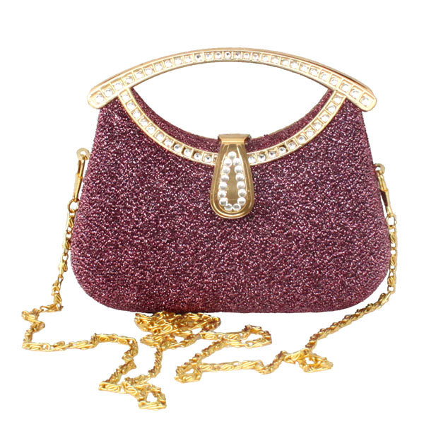 New Arrival Rhinestone Sequins Women's Clutches Handbag Purse