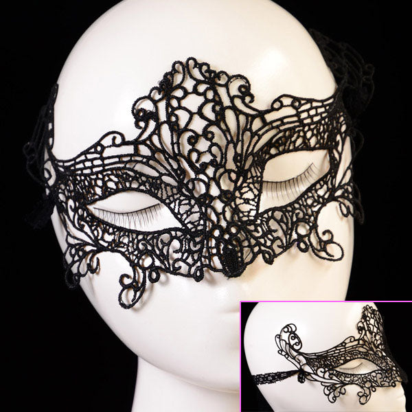 Sexy Charm Hollow Out Lace Mask Upper Half Face Mask Masquerade Party Eye Mask