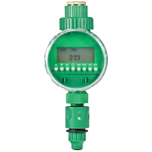 Home Garden and Lawn Supplies - Digital Water Irrigation Timer Controller Watering Hose Meter Lawn Sprinkler System
