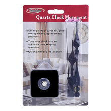 Quartz Clock Movement Black Hands 3/ 10 Inch Maximum Dial Thickness 4/ 5 Inch Total Shaft Length