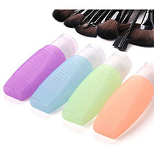 4pcs Portable Silicone Travel Bottles Organizers Travel Containers, 3 Oz/ 78ml