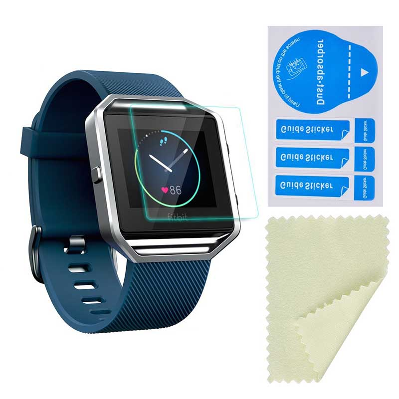 HD Ultra Clear LCD Screen Protector Cover for Fitbit Blaze