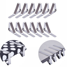 12 Pack Stainless Steel Tablecloth Clips Table Cloth Cover Clamps