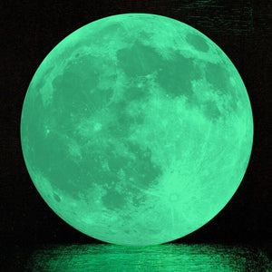 20cm*20cm  Moon Light Sticker Decorative Wall Sticker