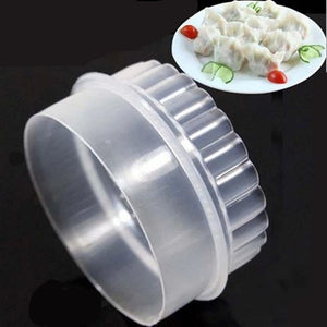 Double Face Printing Dumpling Skin Mould Pressing Buckle Dumpling Skin Mould Boiled Dumplings Wonton Tools Package