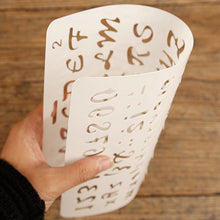Alphabet Letters Numbers DIY Masking Spray Stencil Layering Stencils Hollow Drawing Template Scrapbook Album Paper Cards Embossing Craft Gifts